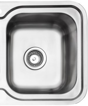 Arc IS9RS3 1 and 1/4 Bowl Left Hand Drainer Sink 783875