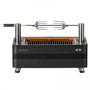 Everdure by Heston Blumenthal HBCE1B Fusion Electric Ignition Charcoal BBQ 783837