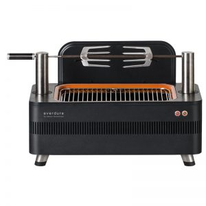 Everdure by Heston Blumenthal HBCE1B Fusion Electric Ignition Charcoal BBQ 783838