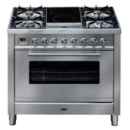 ILVE PW90IMPSS 90cm Freestanding Dual Fuel Oven/Stove