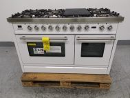 Ilve PSW120FMP/B 120cm Cooker with Tepanyaki Plate + Simmer Plate
