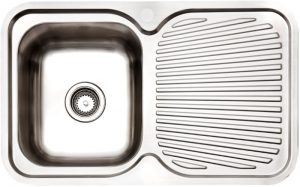Arc IS8LS5 Single Bowl Right Hand Drainer Inset Sink 924944