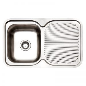 Arc IS8RS5 Single Bowl Right Hand Drainer Inset Sink 991303