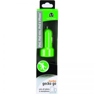 Gecko GG520003 Go Turbo Car Charger 2.1 Amp 928795