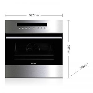WOLF ICBSO24TESTH 60cm E Series Transitional Pyrolytic Built-In Oven 985235
