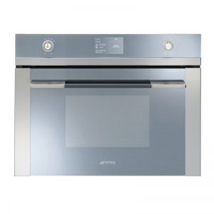 Smeg SFA4130VC1 60cm Electric Built-In Compact Combi-Steam Oven 996819