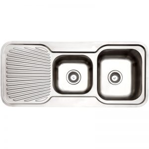 Arc IS11RS3 1 and 3/4 Bowl Left Hand Drainer Inset Sink 1058066