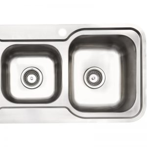 Arc IS11RS3 1 and 3/4 Bowl Left Hand Drainer Inset Sink 1058068