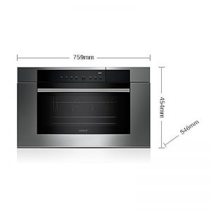 WOLF ICBCSO30TMSTH 76cm M Series Convection Steam Oven 1097512