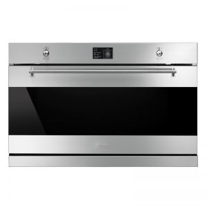 Smeg SFPA9395X 90cm Classic Aesthetic Pyrolytic Built-In Oven 1195824