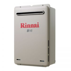 Rinnai Builders B16N60A 60°C 16L Natural Gas Instantaneous Hot Water System 1183635