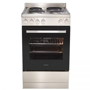 Euromaid EFS54S 54cm Freestanding Electric Oven With Solid Cooktop 1838100