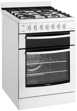 Westinghouse WFG617WA 60cm Freestanding Natural Gas Oven/Stove 1232169