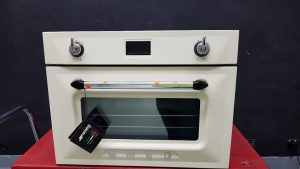 Smeg SFA4920VCP 45cm Victoria Aesthetic Compact Electric Built-In Combi-Steam Oven 1238822