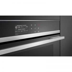 Fisher & Paykel OS60NDB1 45cm Compact Built-In Combi-Steam Oven 1394173