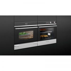 Fisher & Paykel OS60NDB1 45cm Compact Built-In Combi-Steam Oven 1394174