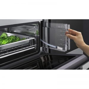 Fisher & Paykel OS60NDB1 45cm Compact Built-In Combi-Steam Oven 1394175