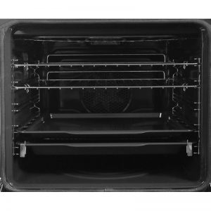 Smeg DOSPA6395X 60cm Classic Aesthetic Pyrolytic Electric Built-In Double Oven 1540566