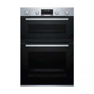 Bosch MBG5787S0A 60cm Serie 6 Pyrolytic Double Oven 1543898