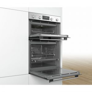 Bosch MBG5787S0A 60cm Serie 6 Pyrolytic Double Oven 1543900