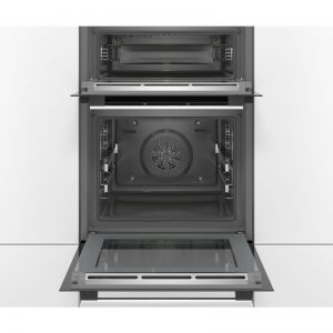Bosch MBG5787S0A 60cm Serie 6 Pyrolytic Double Oven 1543902
