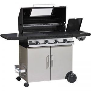 Beefeater BD47842 Discovery 1100E 4 Burner Mobile LPG BBQ 1546202