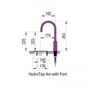 Zip HT2786 HydroTap Arc Boiling Filtered Water 1551718