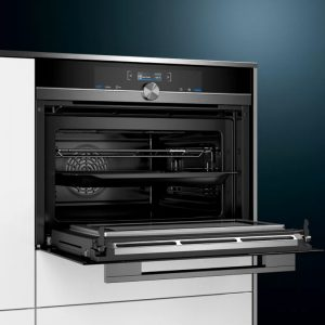 Siemens CM833GBB1A 45cm iQ700 Built-in Compact oven with Microwave Function 1605140