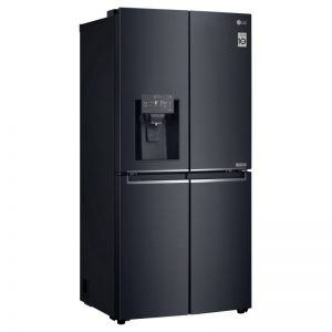 LG  GF-L570MBL 570L French Door Fridge with Ice & Water Dispenser 1576372