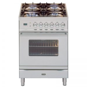 ILVE PW60VGSS 60cm Quadra Series Freestanding Natural Gas Oven/Stove 1610415