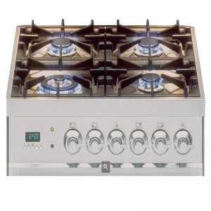 ILVE PW60VGSS 60cm Quadra Series Freestanding Natural Gas Oven/Stove 1610416