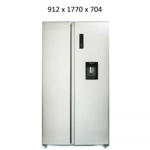 CHiQ CSS601SD 602L Side by Side Refrigerator 1661683