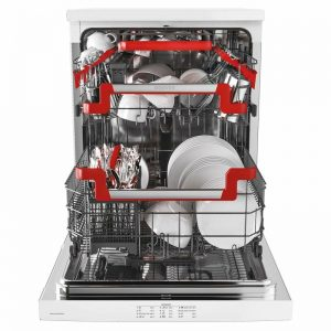 Hoover HDPN4S622PW 60cm Freestanding Dishwasher 1675586