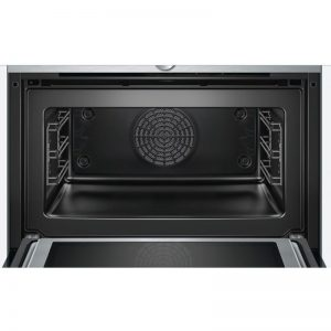 Bosch CMG633BS1B 45cm Serie 8 Compact Oven with 900W Microwave 1702323