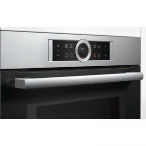 Bosch CMG633BS1B 45cm Serie 8 Compact Oven with 900W Microwave 1702324