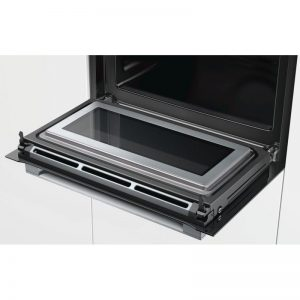 Bosch CMG633BS1B 45cm Serie 8 Compact Oven with 900W Microwave 1702326