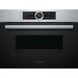Bosch CMG633BS1B 45cm Serie 8 Compact Oven with 900W Microwave 1702327