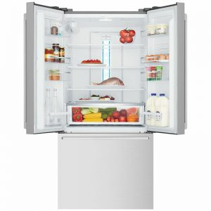 Westinghouse WHE5264SC 491L French Door Frost Free Fridge with Ice and Water Dispenser 1715212
