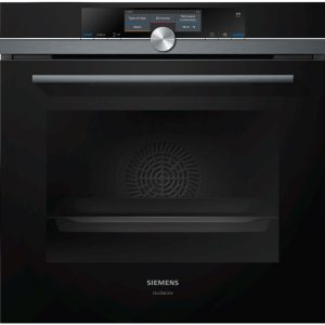 Siemens HN878G4B6B 60cm iQ700 Built-In Pyrolytic Oven with Microwave & pulseSteam 1804230