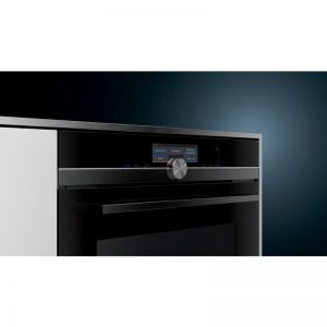 Siemens HN878G4B6B 60cm iQ700 Built-In Pyrolytic Oven with Microwave & pulseSteam 1804231