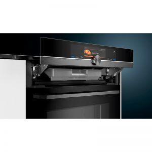 Siemens HN878G4B6B 60cm iQ700 Built-In Pyrolytic Oven with Microwave & pulseSteam 1804232