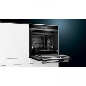 Siemens HN878G4B6B 60cm iQ700 Built-In Pyrolytic Oven with Microwave & pulseSteam 1804234