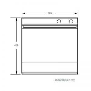 Fisher & Paykel OM60NDB1 60cm Built-in Combi-Microwave Oven 900W 1803691