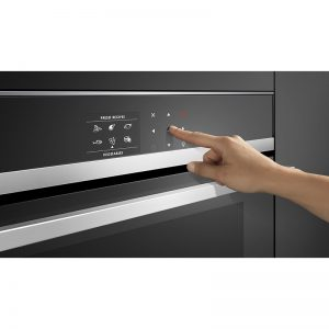 Fisher & Paykel OM60NDB1 60cm Built-in Combi-Microwave Oven 900W 1803696