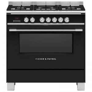 Fisher & Paykel OR90SCG4B1 90cm Freestanding Dual Fuel Oven/Stove 1834009