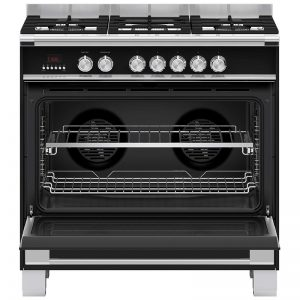 Fisher & Paykel OR90SCG4B1 90cm Freestanding Dual Fuel Oven/Stove 1834010