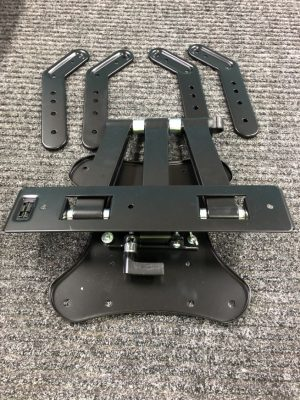 Crest MFP5FM Full-Motion TV Wall Mount for 25 to 55 Inch TVs 1850076