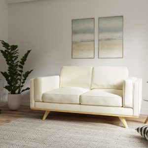 Ostro Y36740BBEL23 Scarborough Two Seater Lounge Beige 1878952