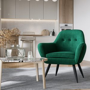 Ostro WA0120BFORE Winton Accent Chair Forest 1878577