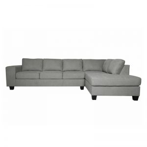 Ostro Tilba Four Seater Right Hand Chaise Lounge Steel U2370ZRHFCSXSHX 1880188
